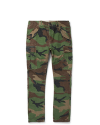 Polo Ralph Lauren Slim Fit Camouflage Print Cotton Twill Cargo Trousers