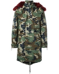 Off-White Camouflage Parka