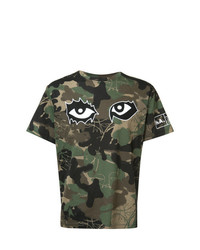 Haculla Camouflage Print T Shirt
