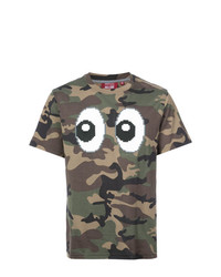 Mostly Heard Rarely Seen 8-Bit Camouflage Print T Shirt