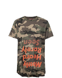 Mostly Heard Rarely Seen Camouflage T Shirt