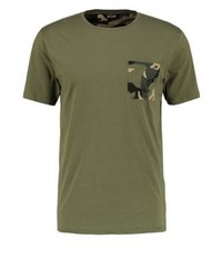 ONLY & SONS Onscamosagna Print T Shirt Olive Night