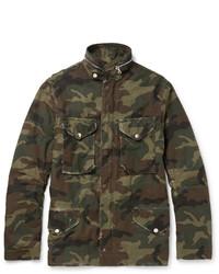 Olive Camouflage Field Jacket