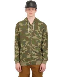 Olive Camouflage Hoodie