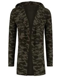 Kalli cardigan olive camouflage medium 4205377