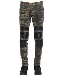 Olive Camouflage Jeans