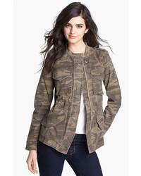 Olive Camouflage Military Jacket