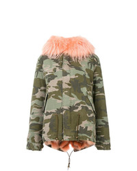 Mr & Mrs Italy Camouflage Parka Jacket
