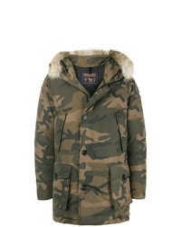 Woolrich Camouflage Parka