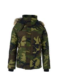 Canada Goose Camouflage Print Padded Jacket