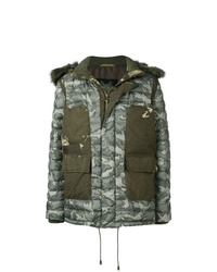 Mr & Mrs Italy Med Hood Padded Coat