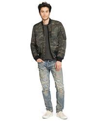 Denim & Supply Ralph Lauren Ralph Lauren Denim Supply Slim Camo Down Bomber Jacket