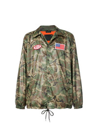 R13 Camouflage Shirt Jacket
