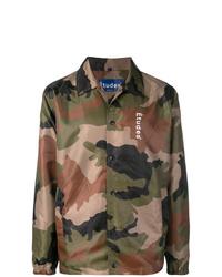 Études League Logo Camouflage Jacket