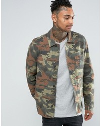 Asos Military Style In Camo Print