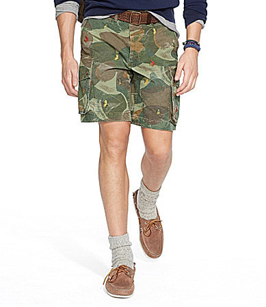 9d65989b7ebbd ... spain relaxed fit embroidered camouflage shorts. olive camouflage shorts  by polo ralph lauren 8f1e9 e5c7e