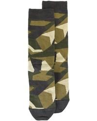Diesel Camouflage Pattern Socks