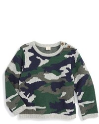 Olive Camouflage Sweater