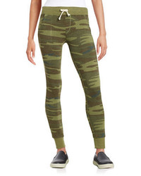 Olive Camouflage Sweatpants