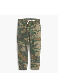 J.Crew Boys Pull On Pant In Camo