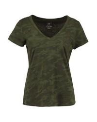 Gap Print T Shirt Green Camo