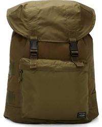 Olive Canvas Backpack