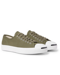 Converse Jack Purcell Ox Rubber Trimmed Canvas Sneakers
