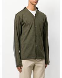 Comme Des Garcons SHIRT Comme Des Garons Shirt Two Tone Cardigan