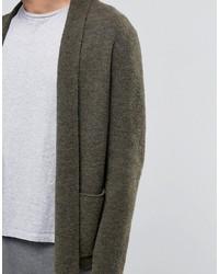 Weekday Jab Boiled Wool Cardigan