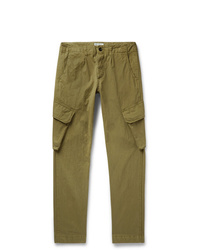 President'S Slim Fit Tapered Cotton Blend Cargo Trousers