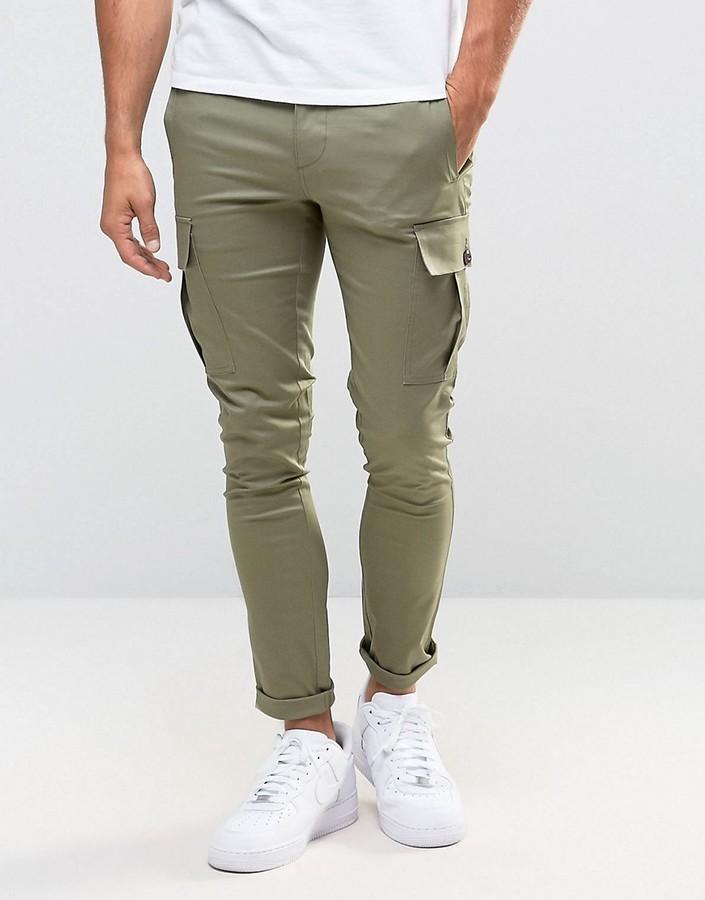 Asos Super Skinny Cargo Pants In Light Khaki | Where to buy & how ...