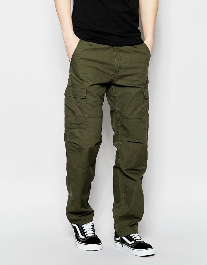 a9a73526893 Carhartt Wip Aviation Cargo Pants, £100 | Asos | Lookastic UK