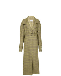 Strateas Carlucci Meta Check Trench Coat