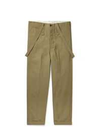 VISVIM Cotton Canvas Trousers