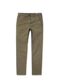 rag & bone Fit 2 Slim Fit Gart Dyed Stretch Cotton Twill Chinos