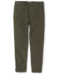 Officine Generale New Fisherman Cotton Twill Chinos