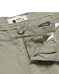 NN.07 Marco Slim-fit Stretch-cotton Twill Chinos TwIsn