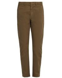No.21 No 21 Mid Rise Slim Leg Stretch Cotton Chino Trousers