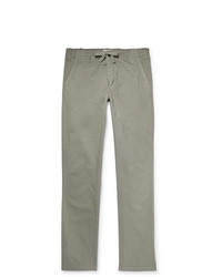 Hartford Troy Slim Fit Cotton Drawstring Trousers