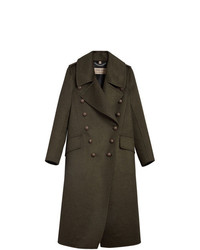 Burberry Bird Button Military Coat