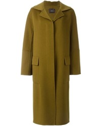 Odeeh Long Three Button Coat