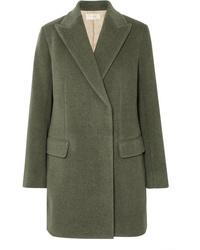 The Row Mewey Wool Blend Twill Coat