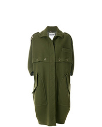 Moschino Military Style Coat