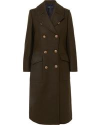 Rag & Bone Remington Double Breasted Wool Blend Felt Coat