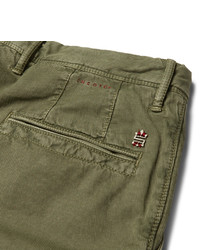 Incotex Slim Fit Stretch Cotton Corduroy Chinos