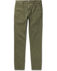Incotex Slim Fit Stretch Cotton Corduroy Chinos