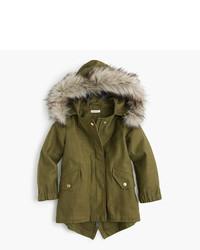 J.Crew Girls Cotton Fishtail Jacket