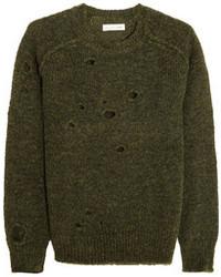 Etoile Isabel Marant Toile Isabel Marant Rain Distressed Knitted Sweater