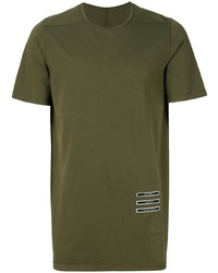 Rick Owens DRKSHDW Patch Detail T Shirt