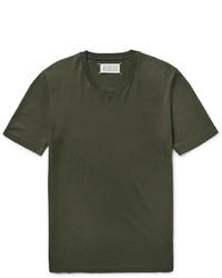 Maison Margiela Slim Fit Cotton Jersey T Shirt